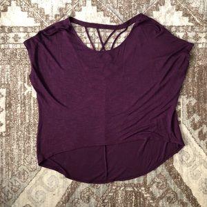 Purple Charlotte Russe Shirt